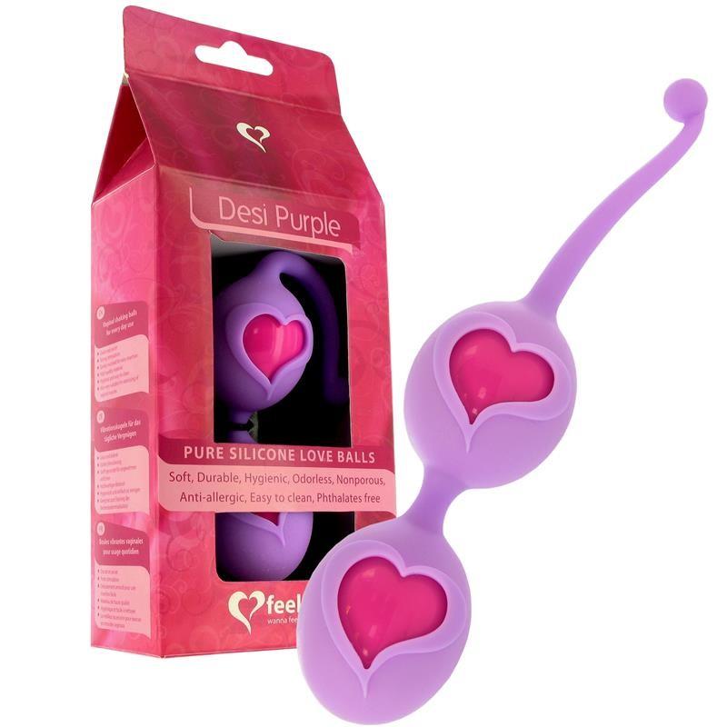 Feelz Toys Bolas Keggel Desi Púrpura