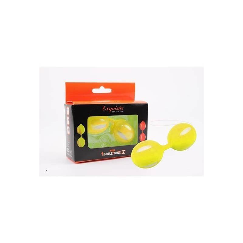 Bolas Ben Wa 10.3 cm Amarillo