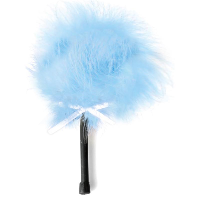 Plumero con Marabú Azul
