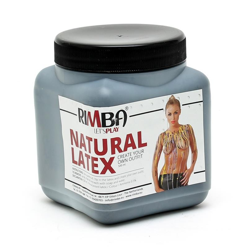Rimba Latex Play Liquid Latex Negro